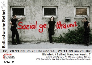 Plakat ballastwache 2009